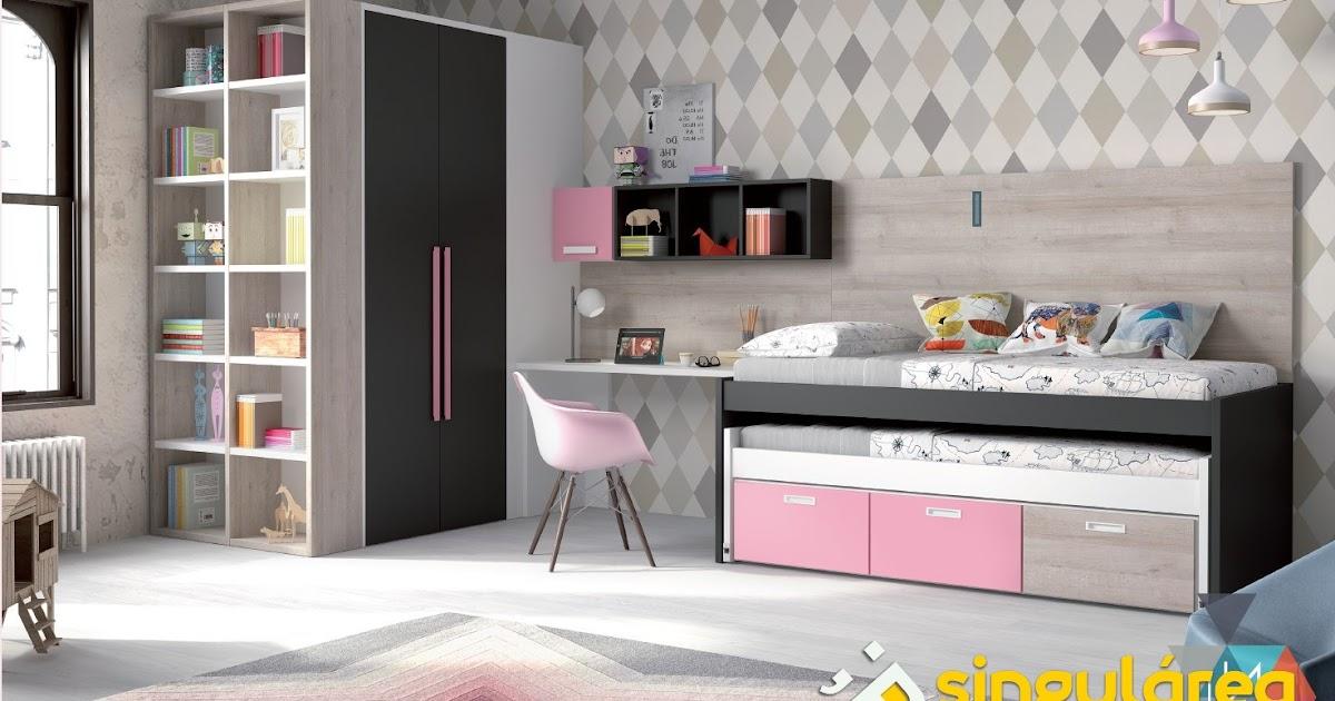 Juvenil con armario vestidor 2264 - Dormitorios infantiles valencia ...