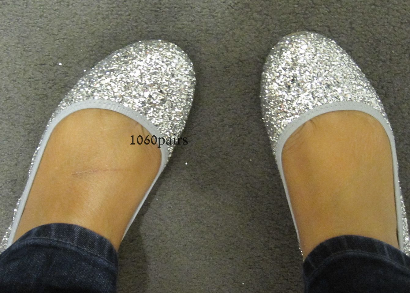 J Crew - Lula glitter ballet flats - Gigi s Gone Shopping 4d6b1c894