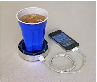 Charge Your Device with cool or hot drinks