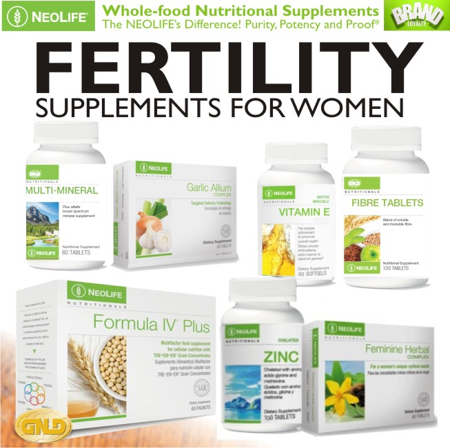GNLD Supplements for Treating Infertility in Women