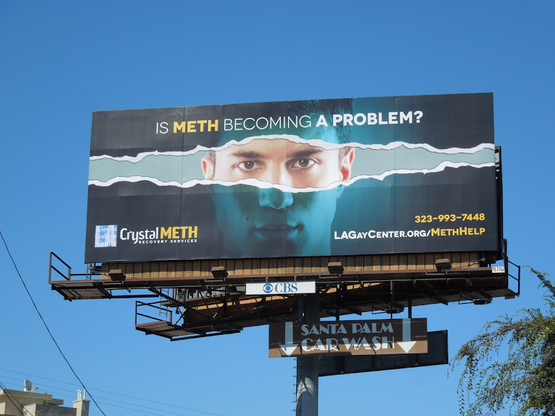 meth problem billboard