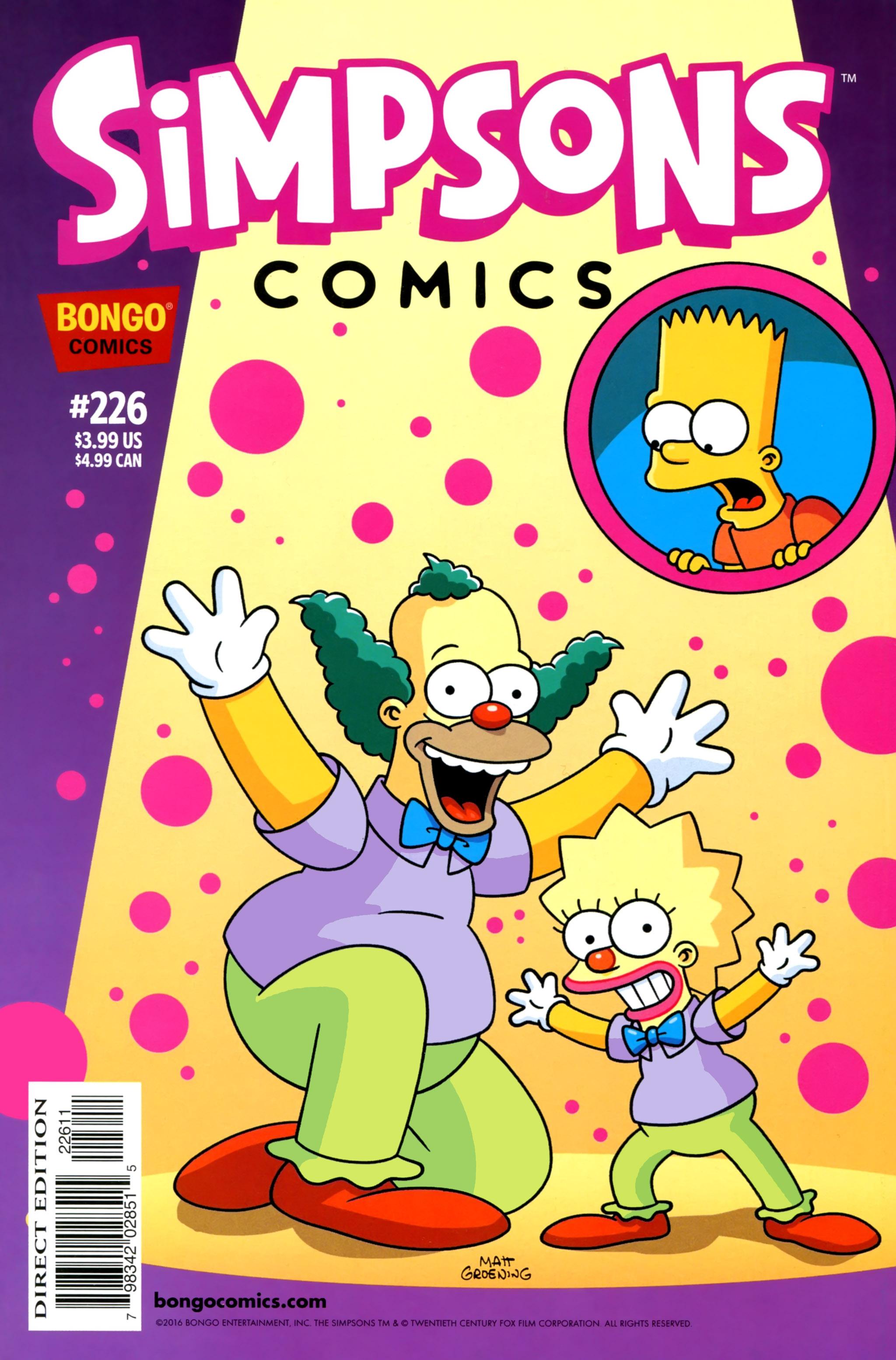 Simpsons Comics 226 Page 1
