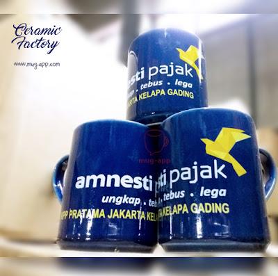 Sukseskan Amnesti Pajak dengan Mug Souvenir