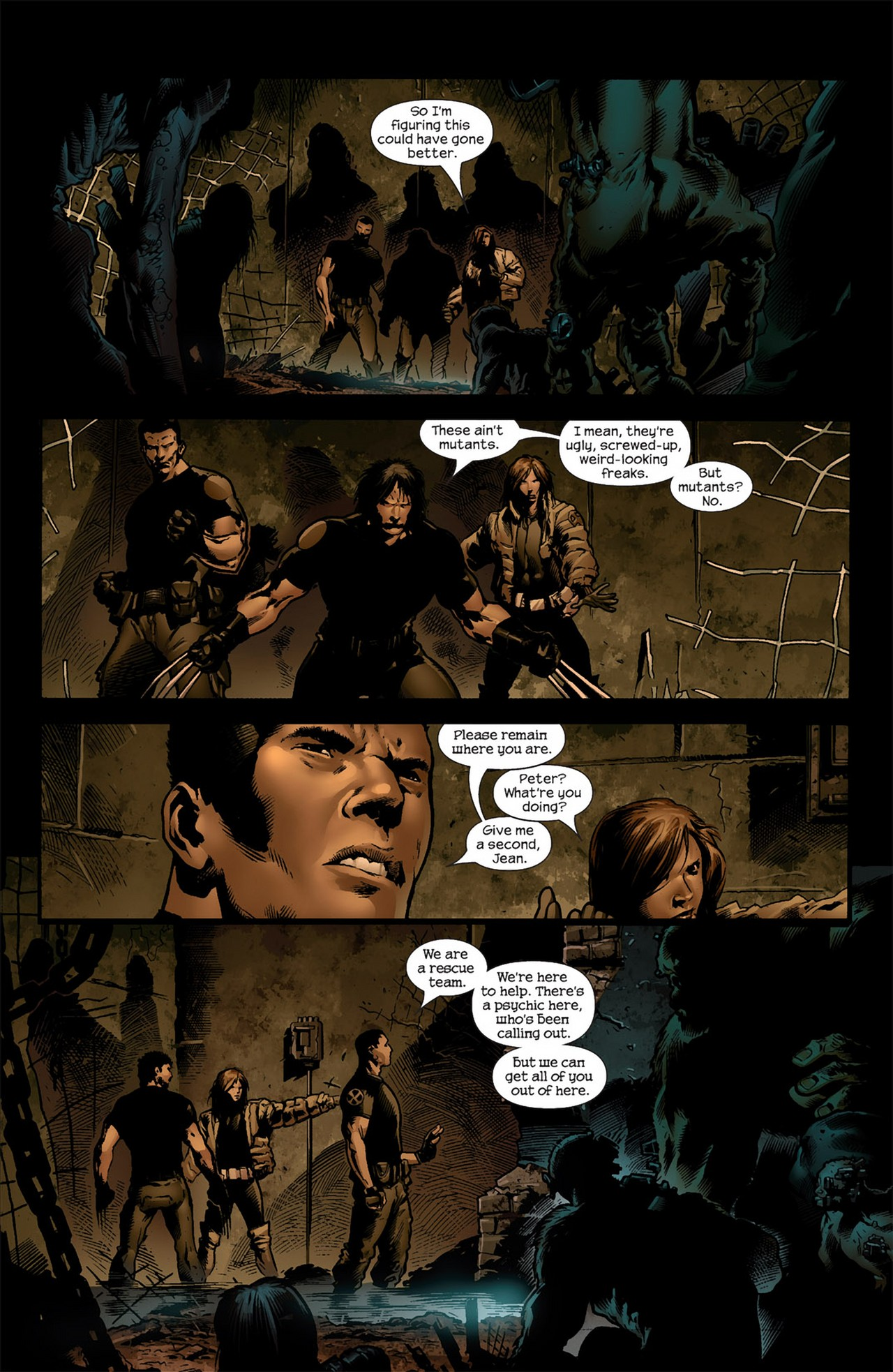 Read online Ultimate Nightmare comic -  Issue #4 - 6