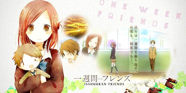 Anime Romance Slice of Life Terbaik - Isshuukan Friends