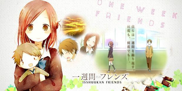 Anime Romance Slice of Life Terbaik - Isshuukan Friends