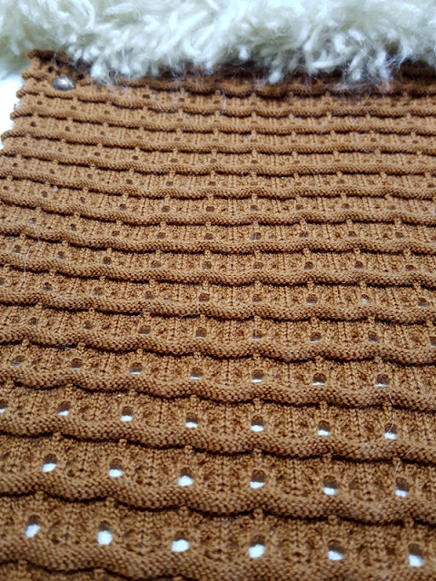 Knitted swatch