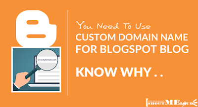 Change your .blogspot to .com domain