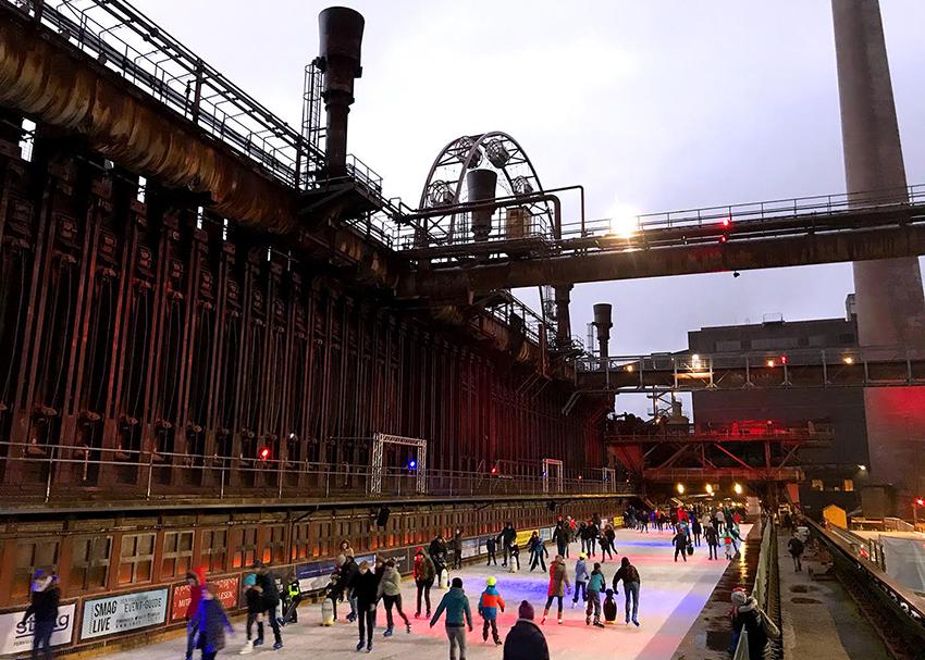 Zeche Zollverein im Ruhrgebiet