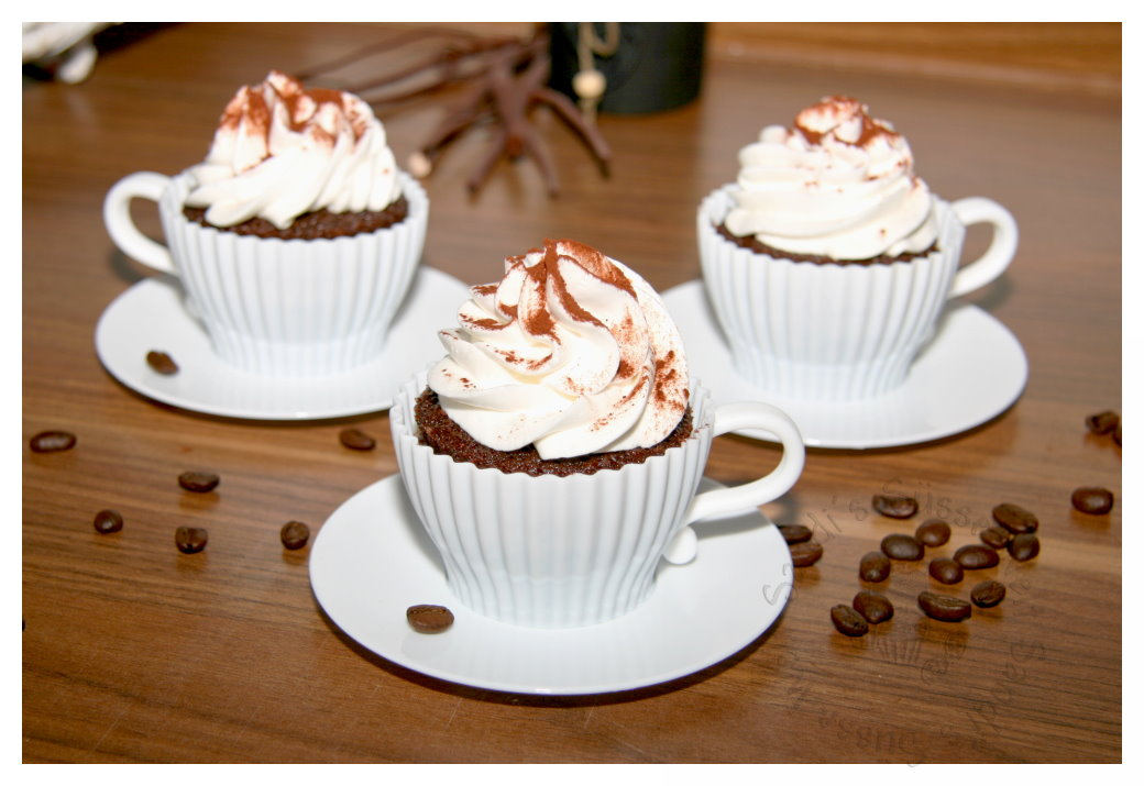 sandi s s sse welt schoko kaffee cupcakes. Black Bedroom Furniture Sets. Home Design Ideas