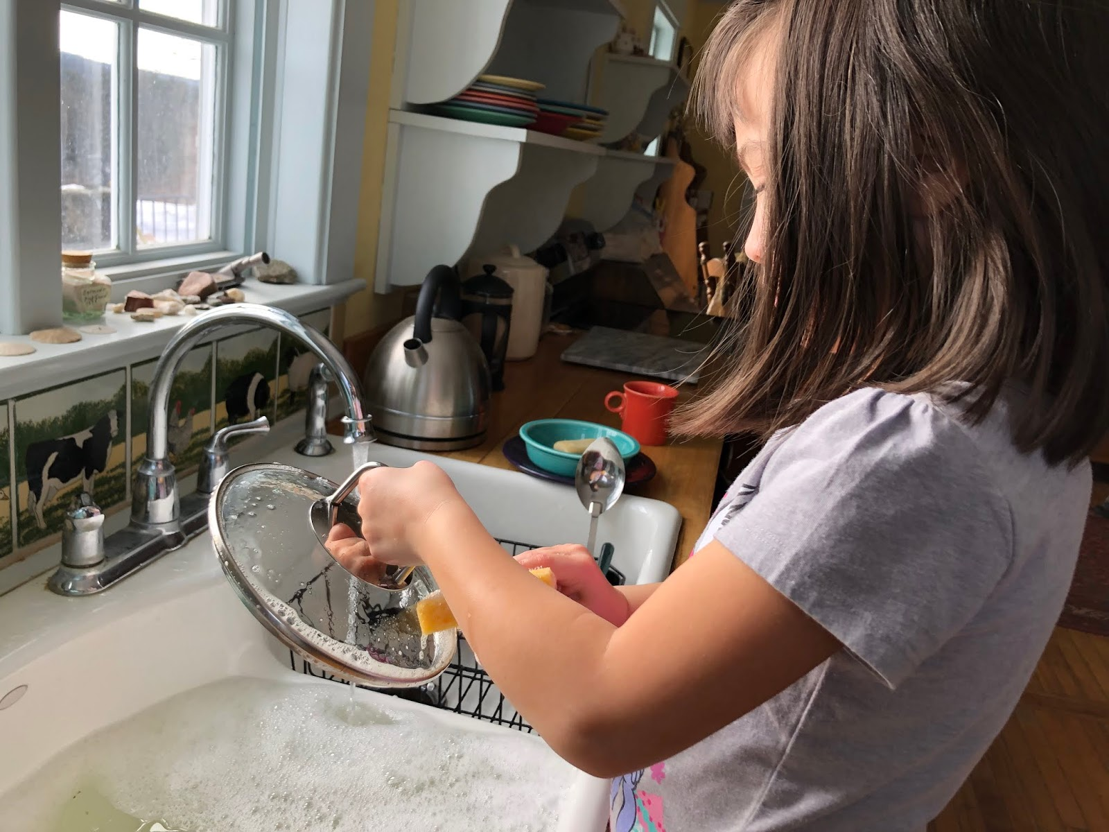 Letters From A Hill Farm Washing Dishes Redux