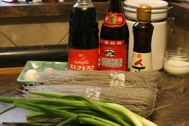 Ingredients for JapChae