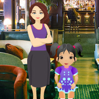 BEG Little Girl Restaurant Escape