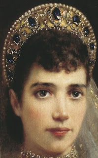 Empress Maria Feodorovna of Russia Sapphire Wave Tiara