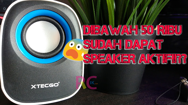Apakah Ada Speaker Aktif USB Dibawah 100rb Punya Suara Bagus? Perkenalkan Xtecgo F5: Andalan Anak Kos