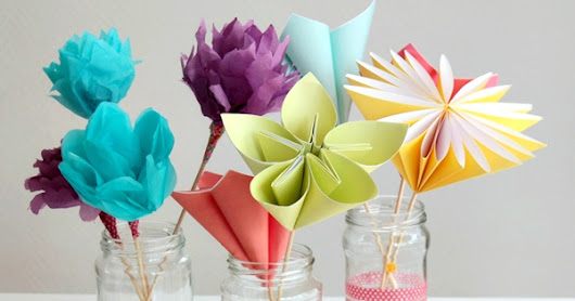 BEAUTIFULL BOQUET FLOWER FROM PAPER