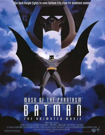 Batman Mask of the Phantasm 1993 Hindi Dual Audio BRRip Full Movie Download