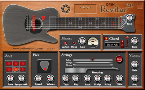 Revitar 2 - Plugin VST de Guitarra