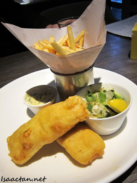 Ben's KLCC fish and chips