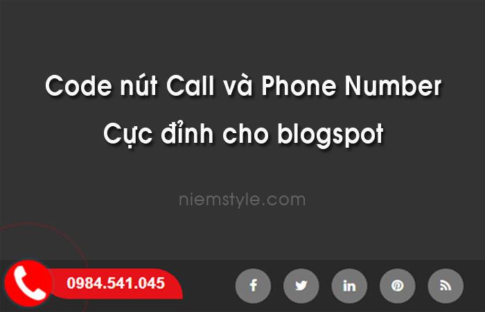 Chia sẻ code nút call và phone number hiệu ứng cực đỉnh hoàn toàn bằng css