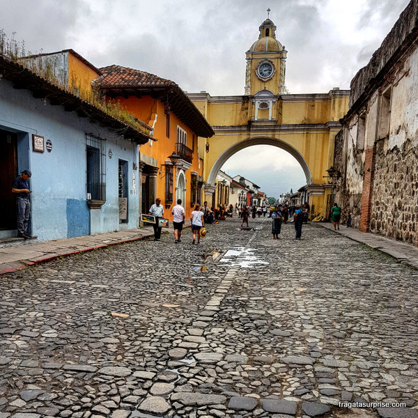 Arco de Santa Catalina em Antígua Guatemala