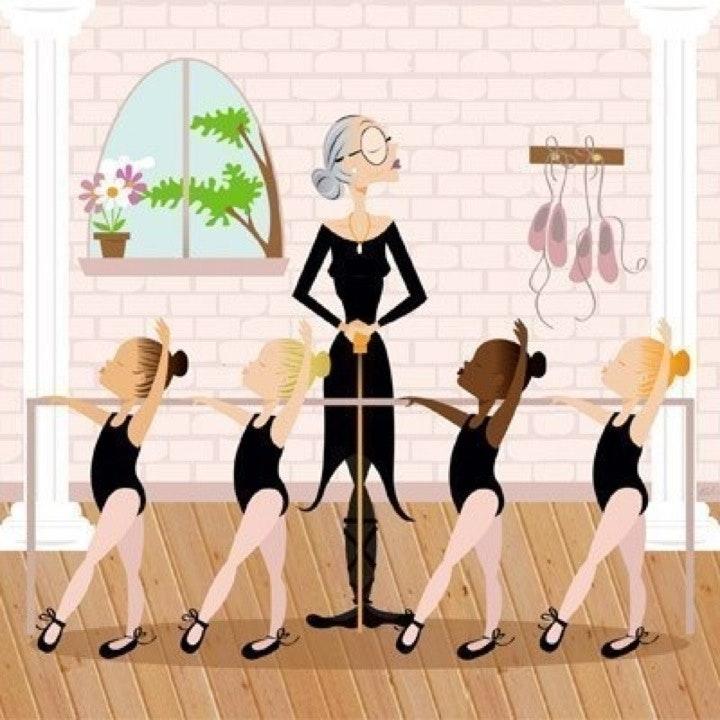Открытки к дню учителя по танцам, оксане