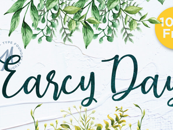 Earcy Day Calligraphy Font Free Download