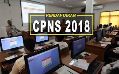 Informasi Jadwal Pendaftaran CPNS Tahun 2018