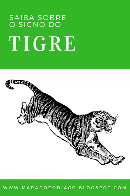 a personalidade do signo chines do tigre