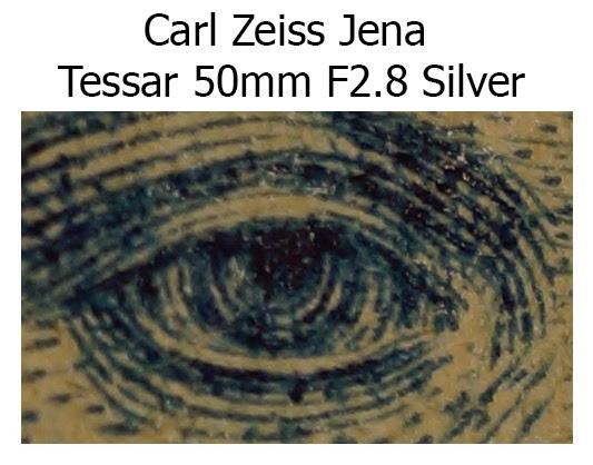 Carl Zeiss Jena Tessar 50mm F2.8 Silver