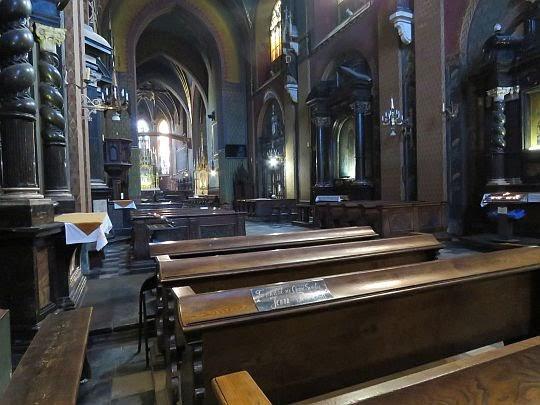 Papieska Ławka w Bazylice św. Franciszka.