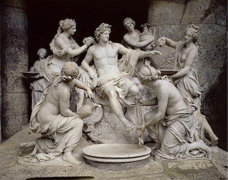 Apollo Served by the Nymphs.  Francois Girardon (1628-1715)  Photo courtesy of Masterfile