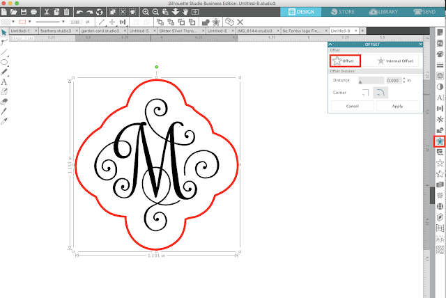 cutting small text, silhouette cameo, cutting small vinyl, vinyl tearing monograms, silhouette 101, silhouette tutorials, free silhouette tutorials