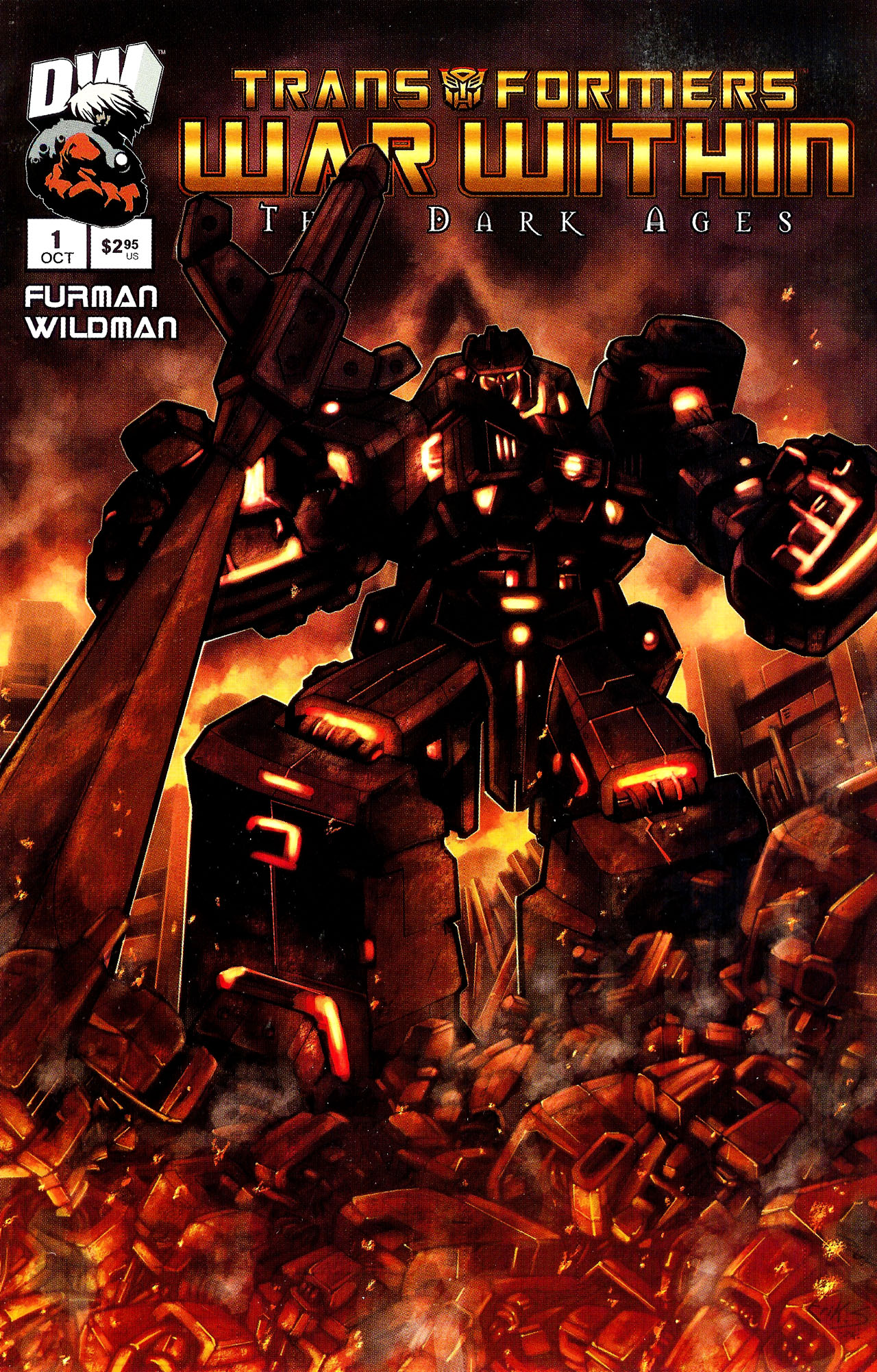 "Read online Transformers War Within: ""The Dark Ages"" comic -  Issue #1 - 2"