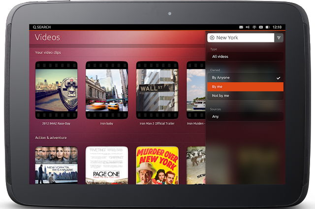 Canonical Unveils Ubuntu on Tablets