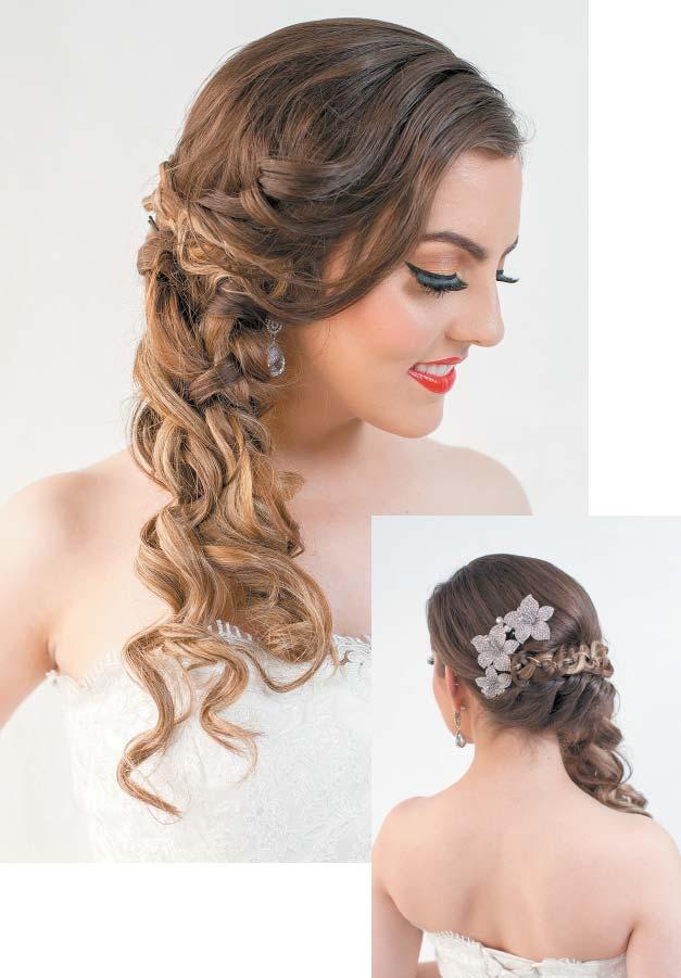 Peinados del romanticismo la acutualidad en peinados del - Peinados de novia actuales ...