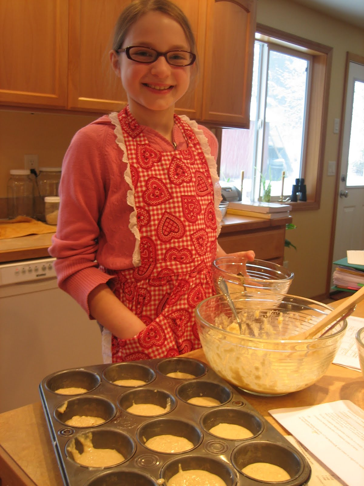 Happy in Dole Valley: Muffin Monday - Coffee Cake Muffins
