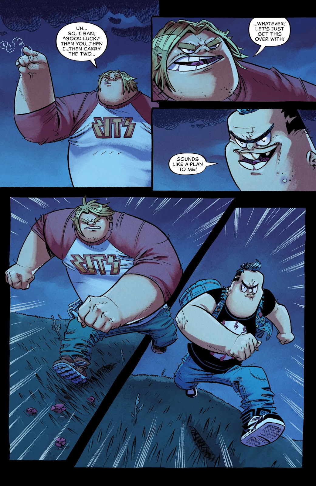Read online Bully Wars comic -  Issue #3 - 6