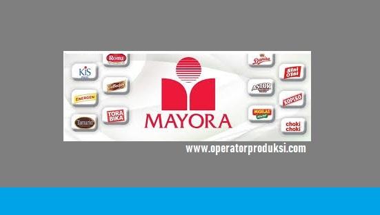 Mesin Operator Produksi  PT Mayora Group 2019
