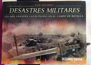Portada del libro Los peores desastres militares, de Chris McNab