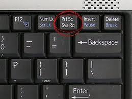 Cara Mengambil Screenshot Gambar Dengan Keyboard