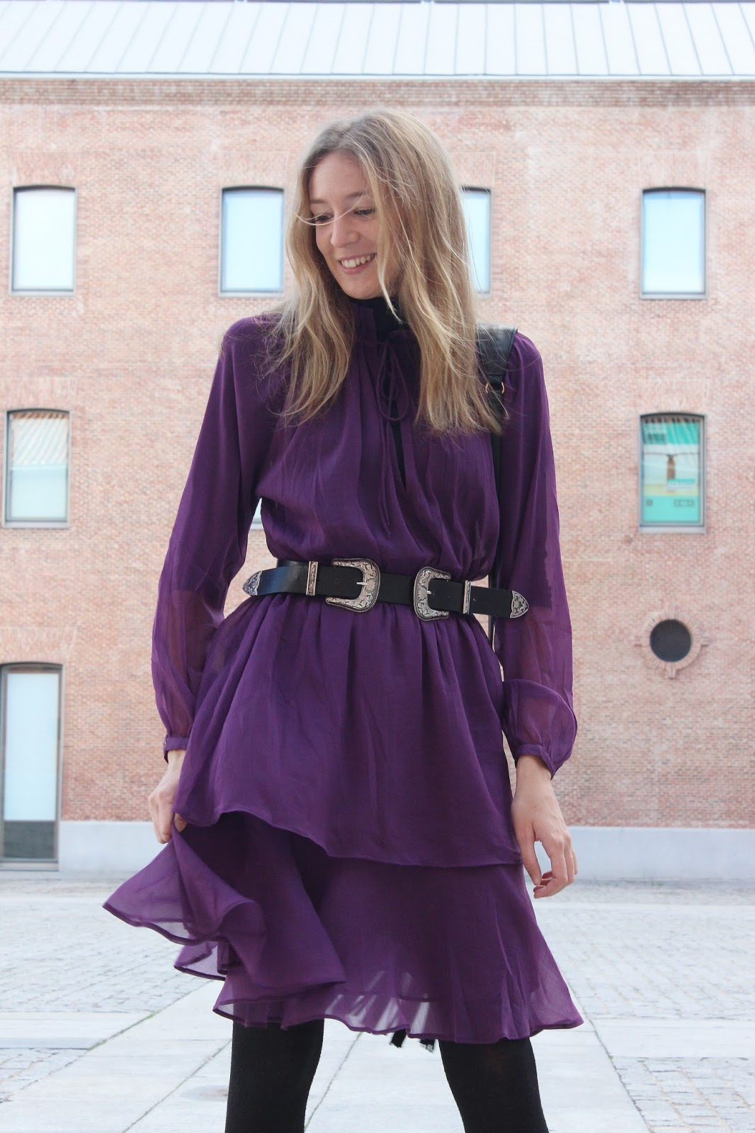 nakd-fashion-purple-dress-chiffon-ruffles