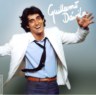 Foto de Guillermo Dávila en portada de disco