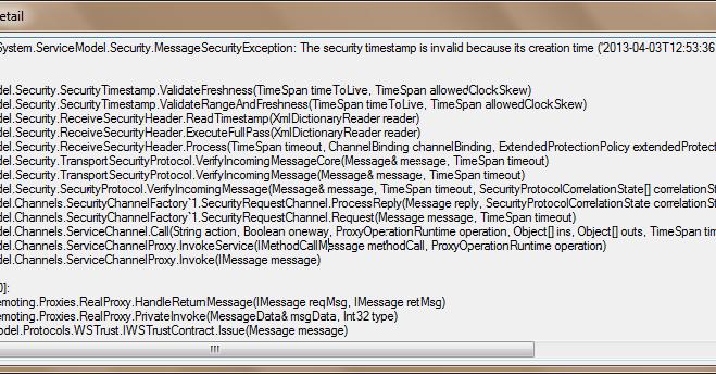 Guru Prasad's Blog: Microsoft Dynamics CRM: Unhandled Exception