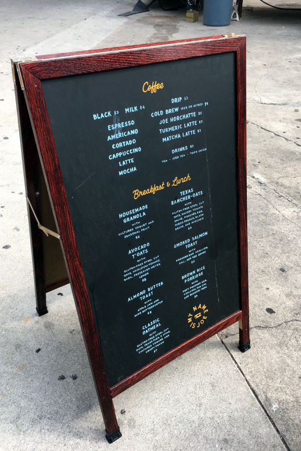 My Name is Joe Coffee Co. and food truck - Austin, Texas - Tori's Pretty Things Blog