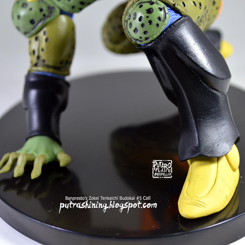 Banpresto Zokei Tenkaichi Budokai #5 Cell Review by Putra Shining
