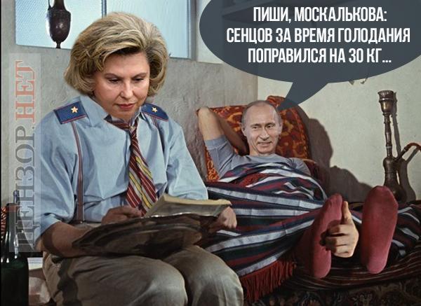 Сенцов уже мёртв, а Путин хочет сокрыть эту информацию до окончания ЧМ-2018?