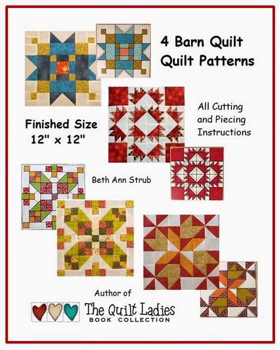 Barn quilt pattern books with quilt patterns