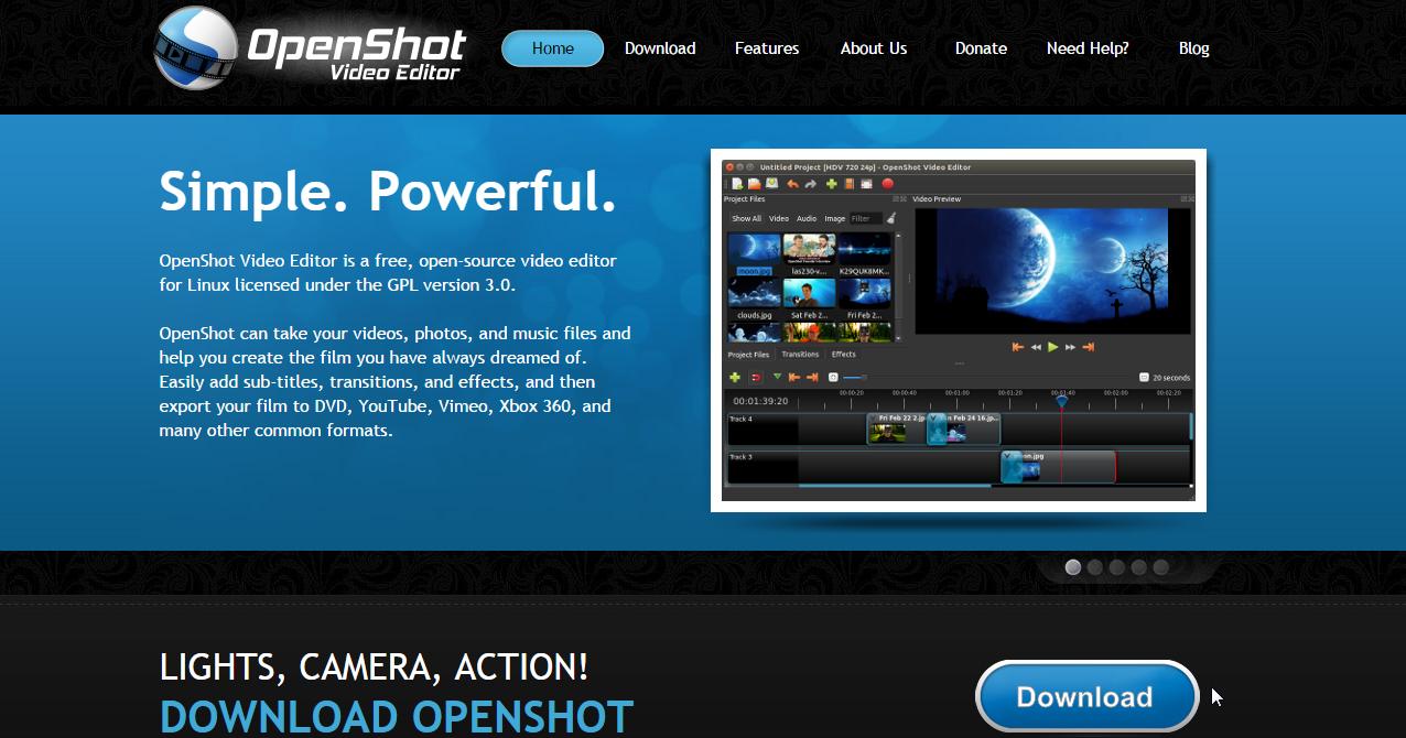 OpenShot 免費中文版影片剪輯軟體,何必用閹割版的威力導演