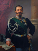 An 1860 portrait of Victor Emmanuel II